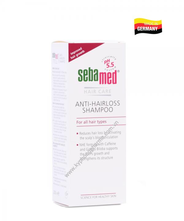 Dầu gội trị rụng tóc Sebamed pH5.5 (200ml)